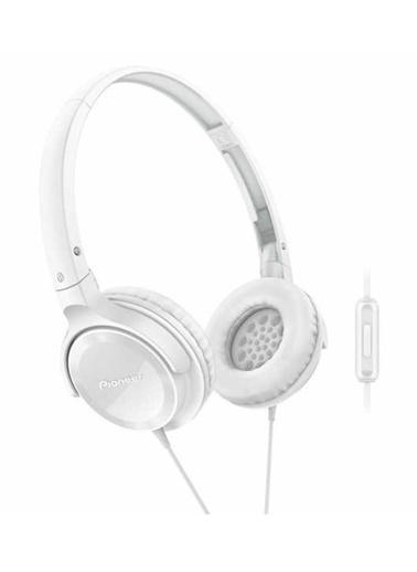 Pioneer SE-MJ502T-W Kulaküstü Mikrofonlu Kulaklık Beyaz